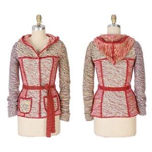 Anthropologie Sparrow Train of Thought Cardigan